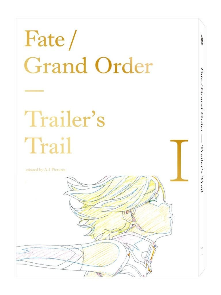 FGO OP・CM原画集シリーズ第一弾「Fate/Grand Order Trailer's Trail I created by A-1 Pictures」 マシュ
