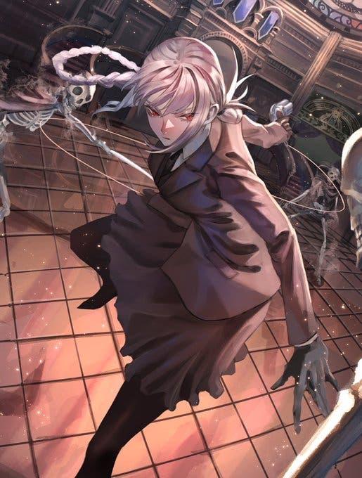 【FGO】英霊正装ナイチンゲール Fate/GrandOrderのイラスト紹介2084