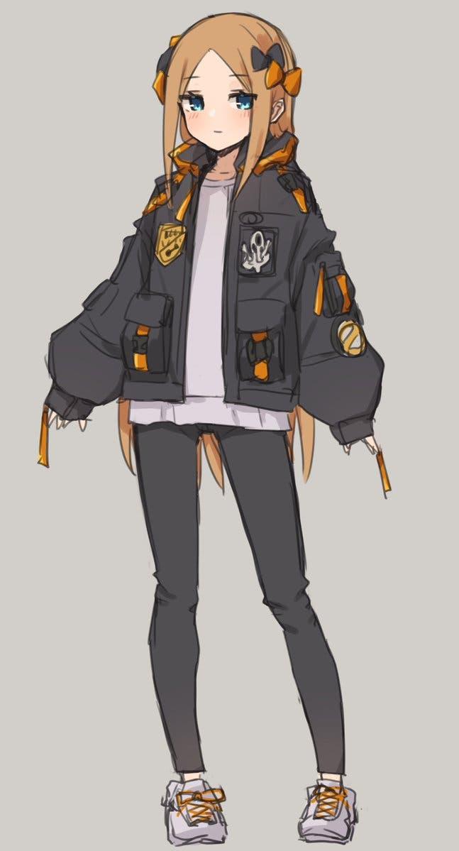 【FGO】ためしにハイパー手癖アビーちゃん描いた Fate/GrandOrderのイラスト紹介2203